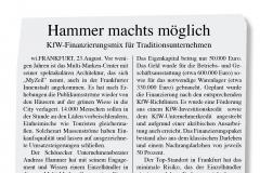 Hammer macht's möglich